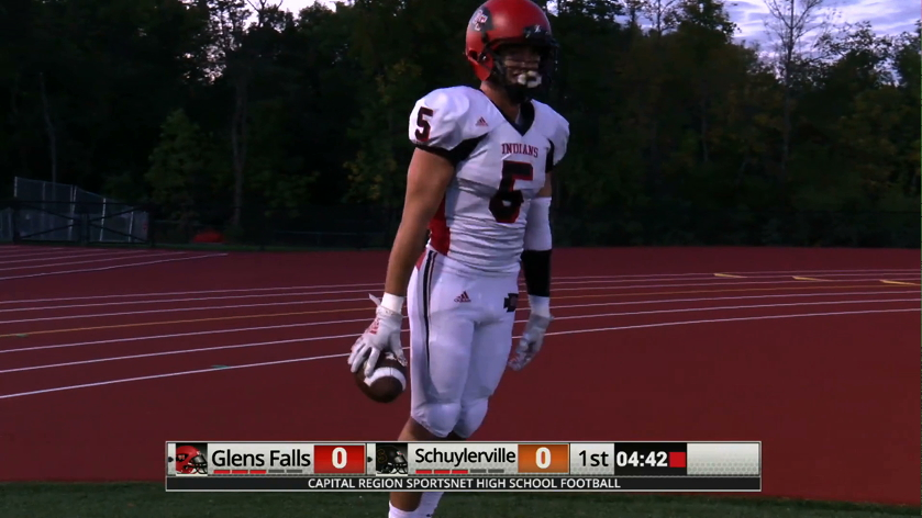 HSFB: Indians Impressive in Win over Schuylerville